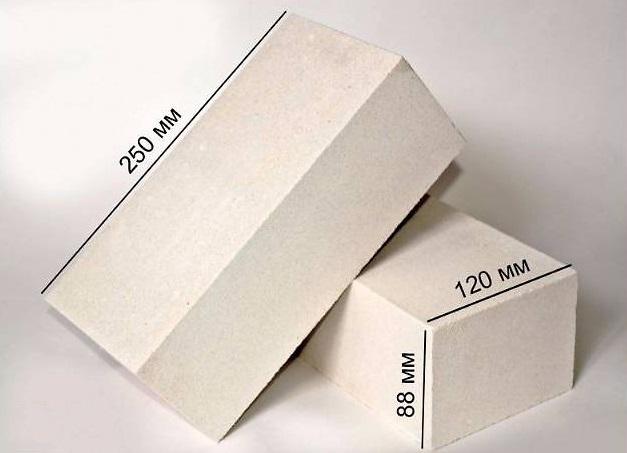 размер силикатного кирпича стандартный белый
