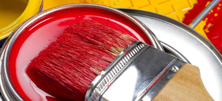 • расход краски на 1 м2 металла