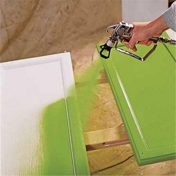 покраска мебельных фасадов