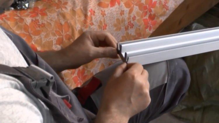 балконное остекление алюминиевым профилем фото