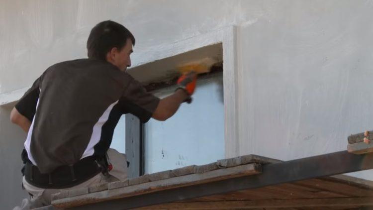 наружное утепление стен пенопластом технология