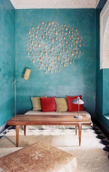 венецианская штукатурка фото в интерьере квартиры