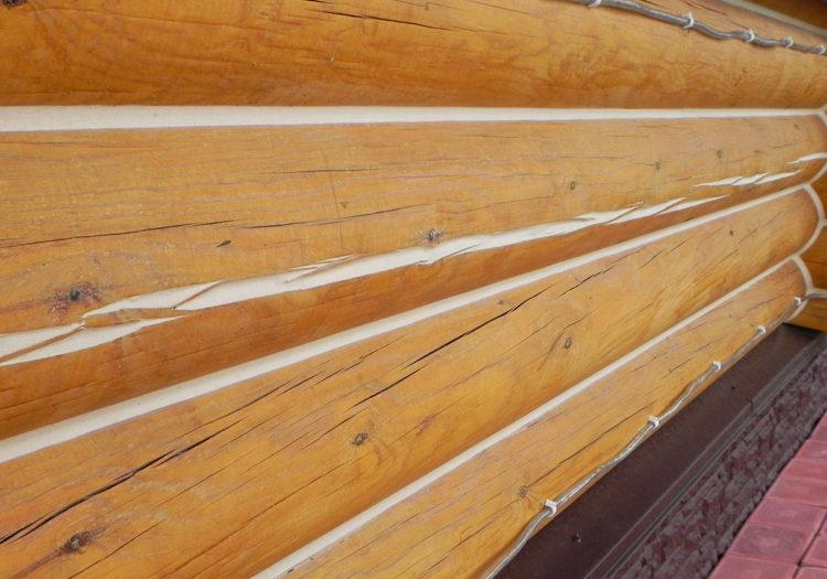 герметик для дерева теплый шов