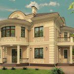 Варианты отделки фасада частного дома